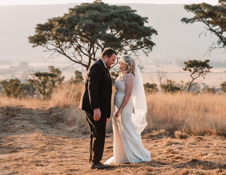 Janine and Johan wedding