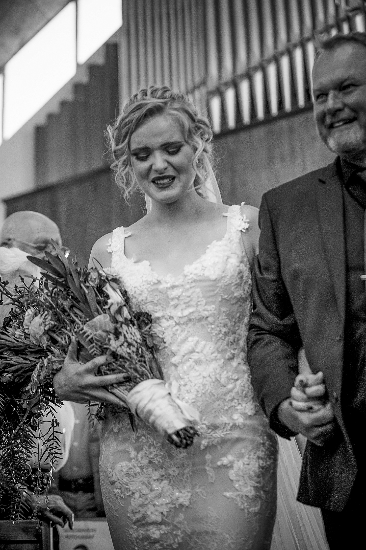 Bride-crying