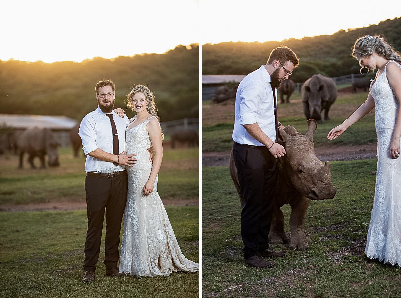 Bride-with-rhino